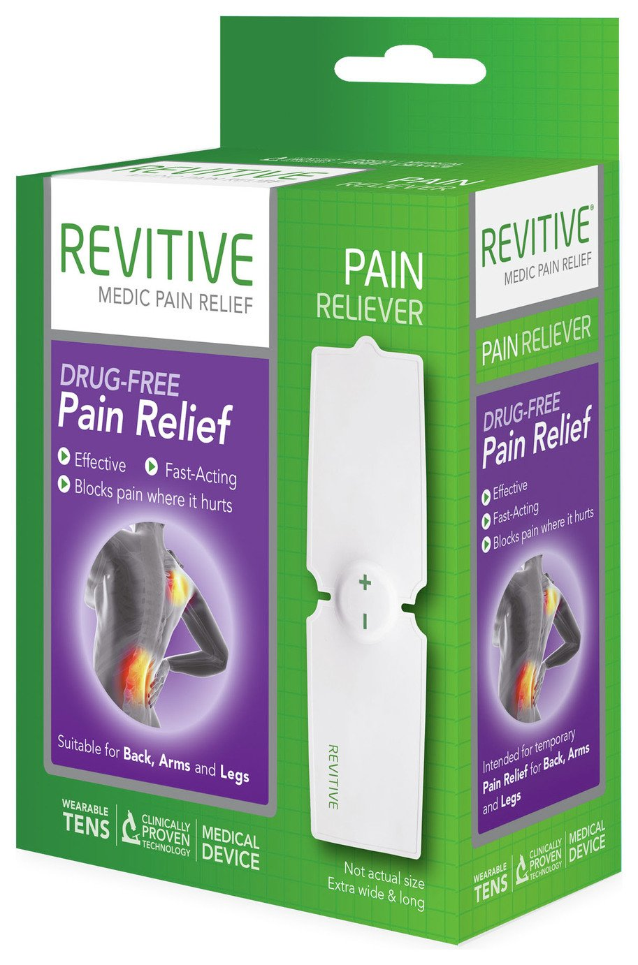 Revitive Pain Relief Wearable Tens Machine