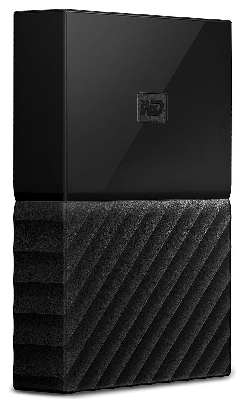 WD My Passport 4TB Portable Hard Drive - Black