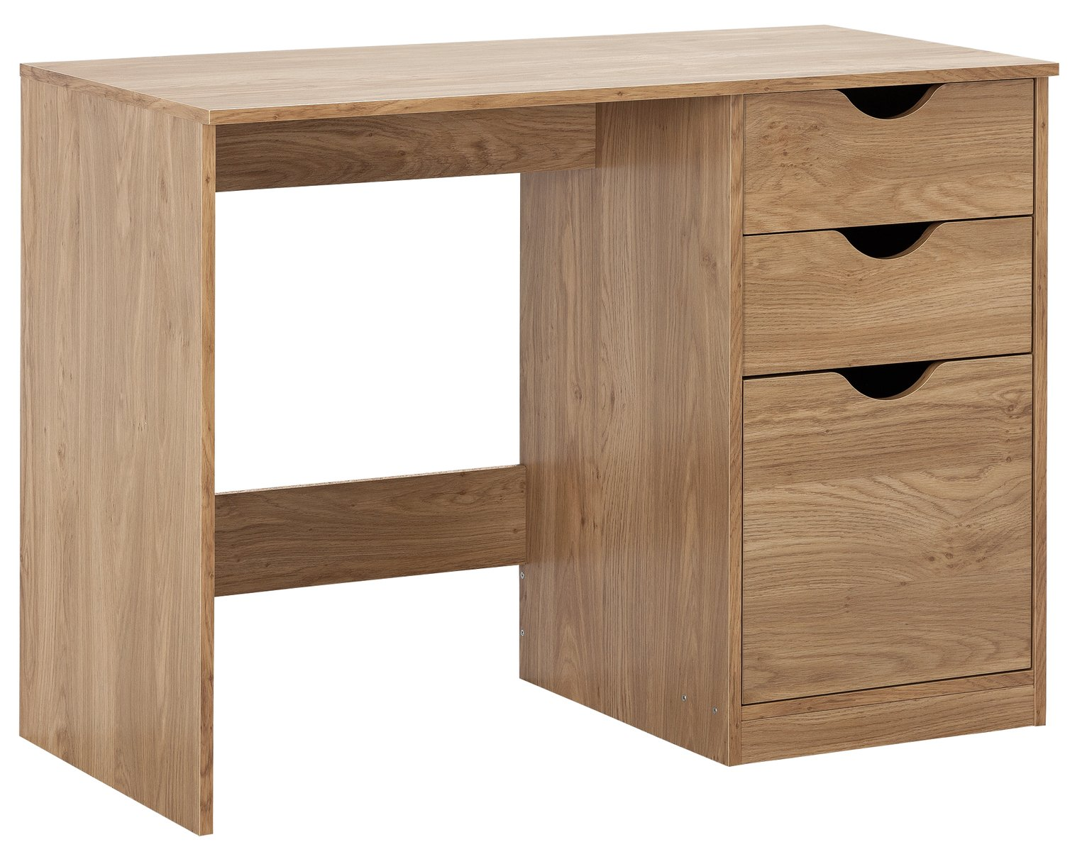 Argos Home Pagnell Oak Effect Desk