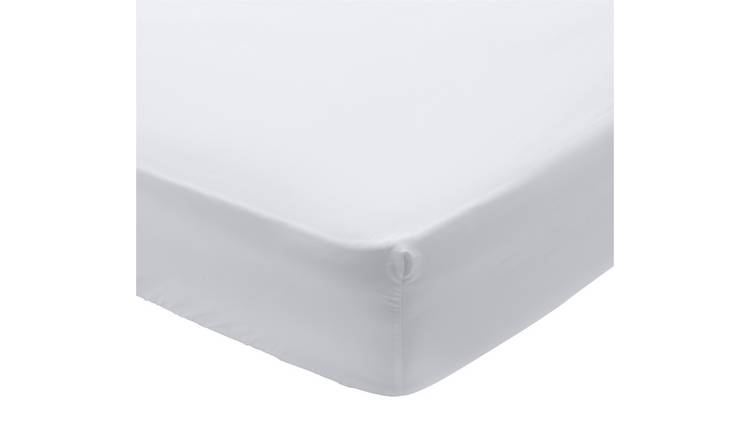 Buy Argos Home 400 Tc White Extra Deep Fitted Sheet Kingsize