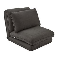 X Rocker Crash Pad XL Fold-Out Gaming Chair - Anthracite