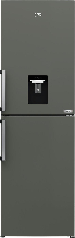 Beko HarvestFresh CFP3691DVG Fridge Freezer - Graphite
