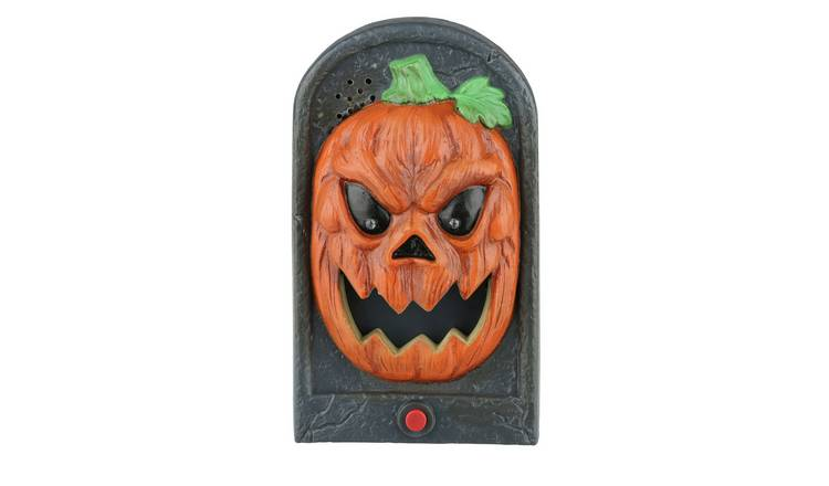 Halloween Pumpkin Animated Doorbell