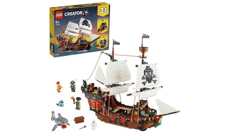 LEGO Creator 3-in-1 Pirate Ship Set - 31109