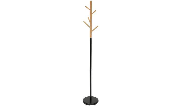 Argos Home Wooden Coat Stand - Black