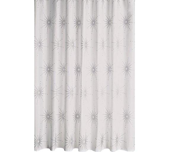 HOME Starburst Shower Curtain