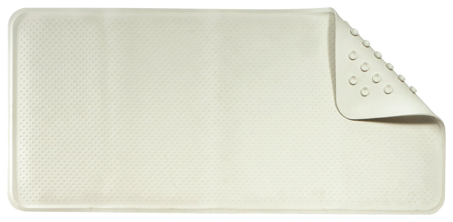 Image of Croydex - Anti-Bacterial Rubber Bath Mat