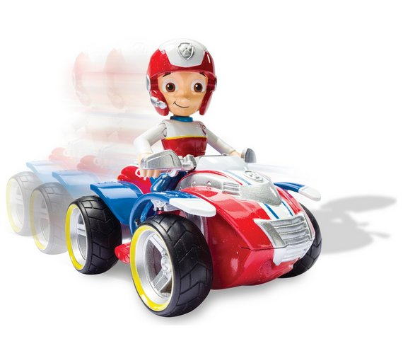 Buy Paw Patrol Ryder S Rescue Atv Pup Vehicle Toy Cars Vehicles