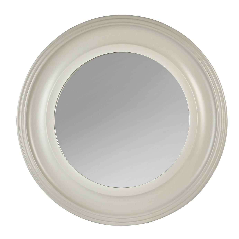 Argos Home Everyday Luxury Round Wooden Framed Wall Mirror