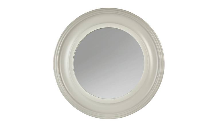 Argos Home Everyday Luxury Round Wooden Framed Wall Mirror