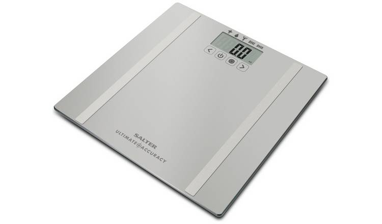 Salter Ultimate Accuracy Body Analyser Scale - Silver