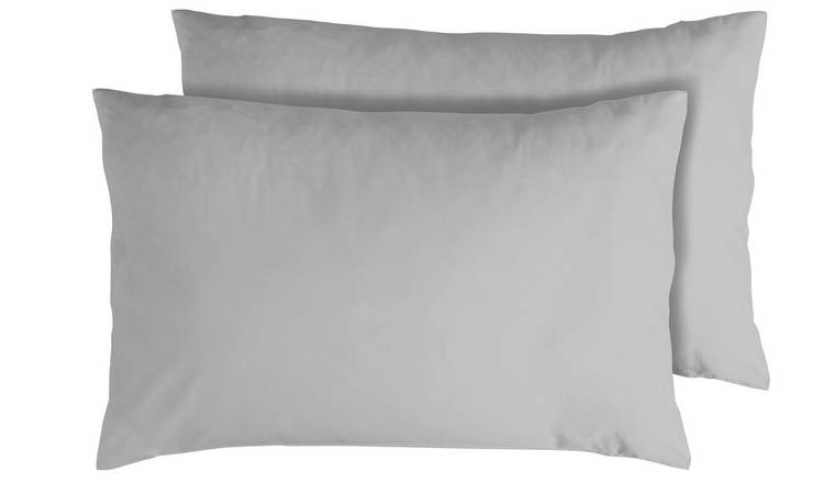 Argos Home 400TC Egyptian Cotton Standard Pillowcase Pair