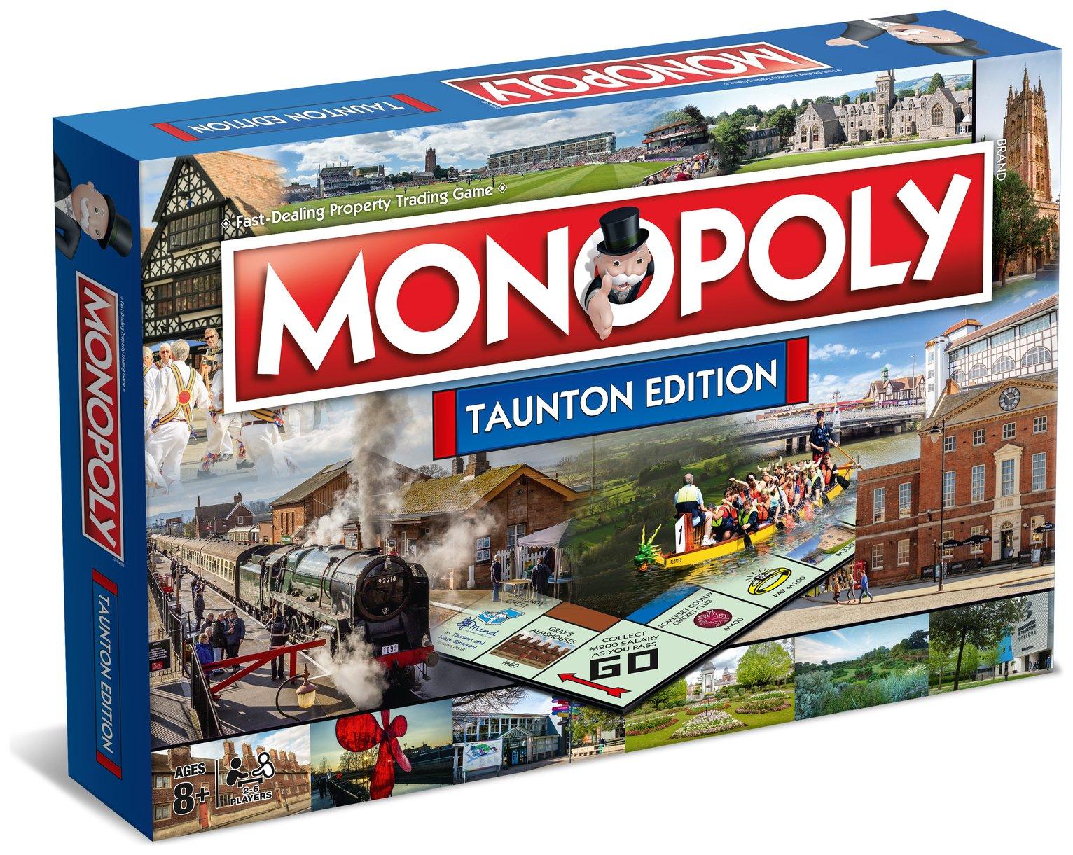 Taunton Monopoly Board Game