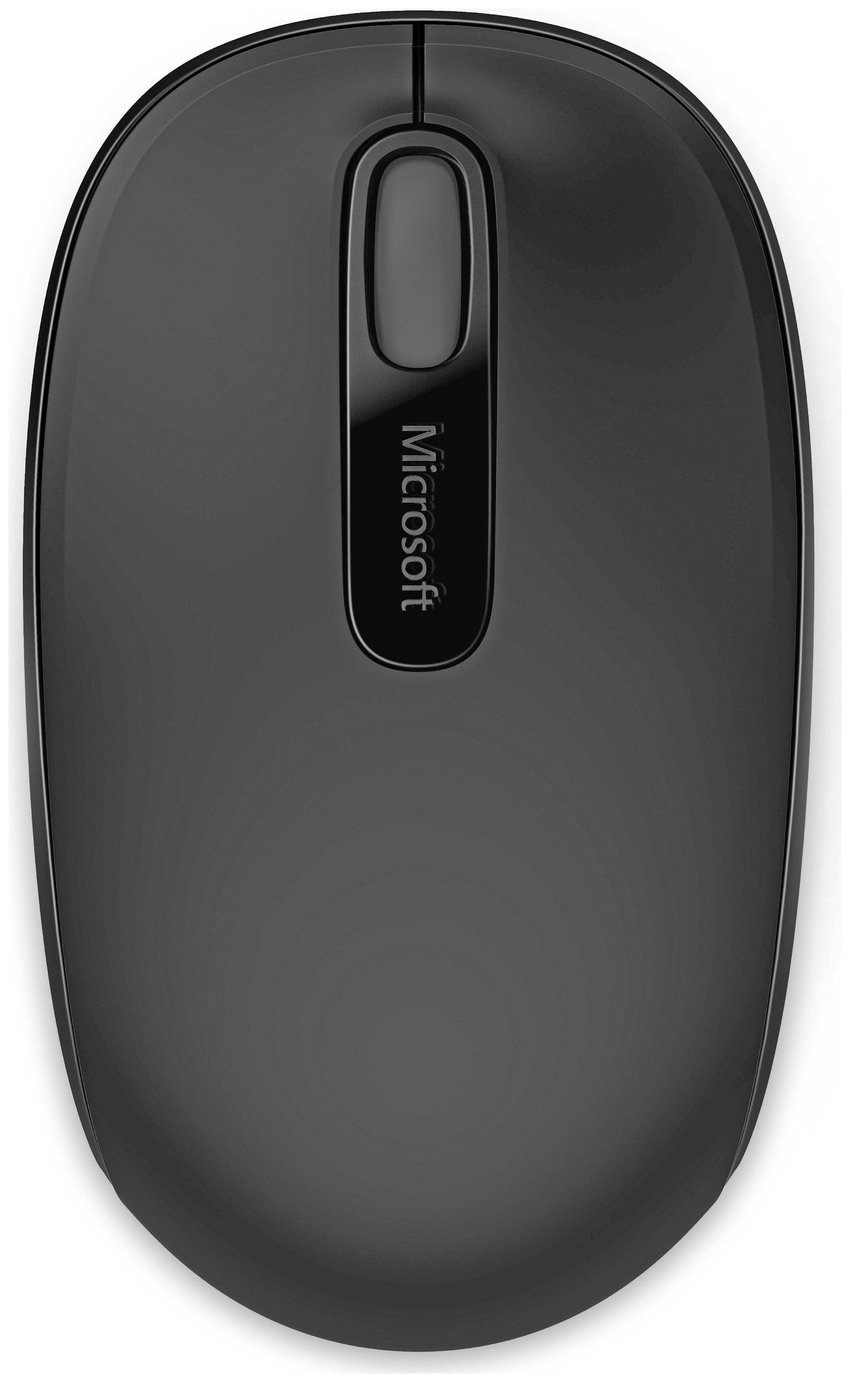 Microsoft 1850 Wireless Mobile Mouse - Black