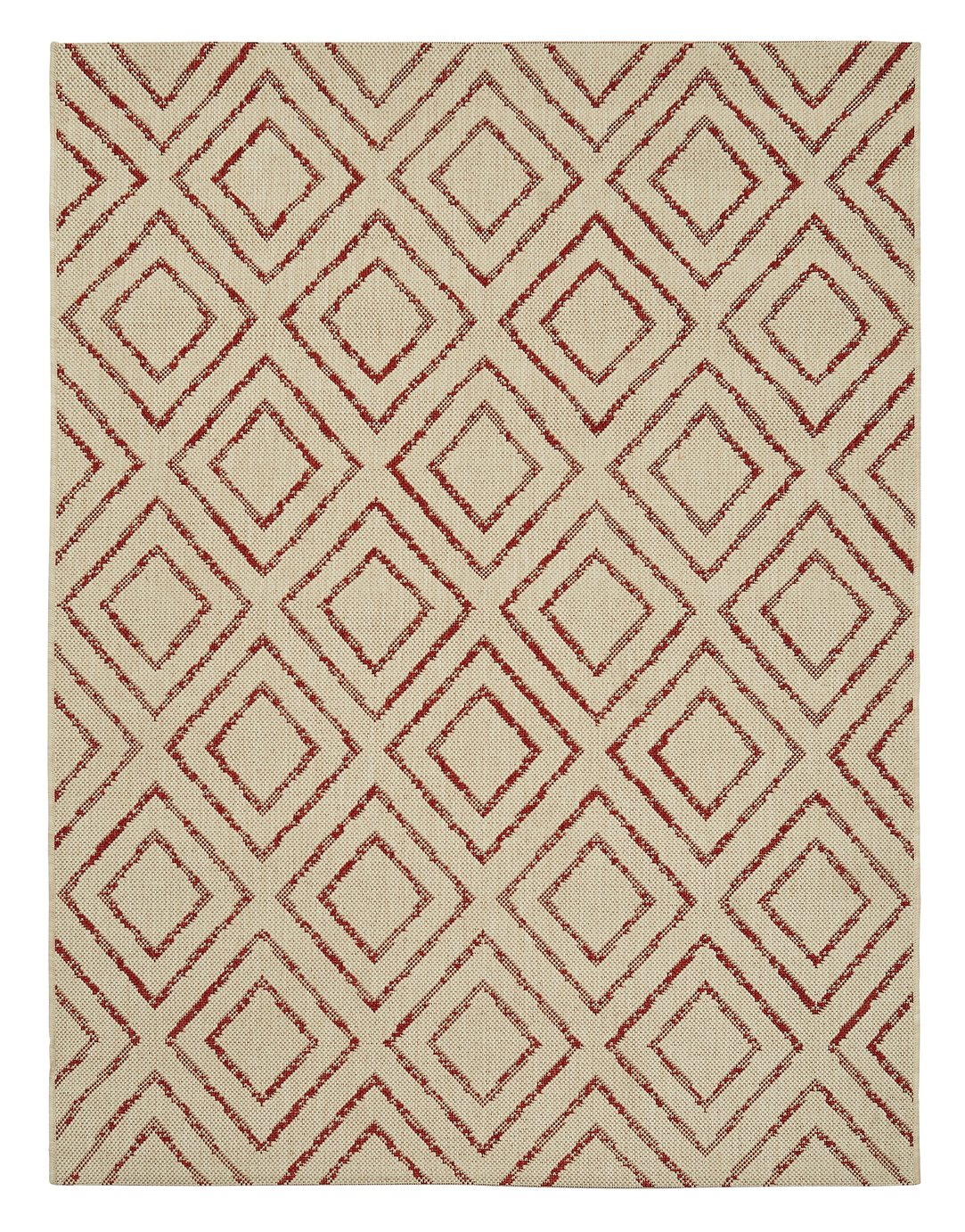 Argos Home Flatweave Diamond Rug