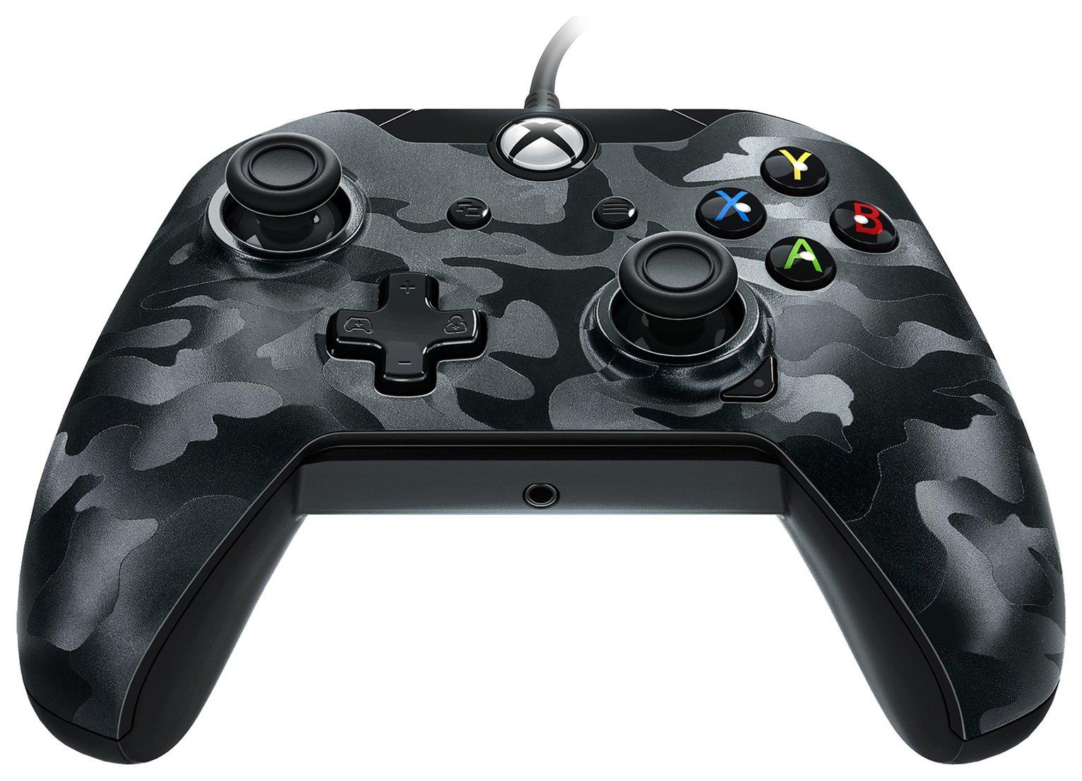 Camo Xbox One Controller - Black