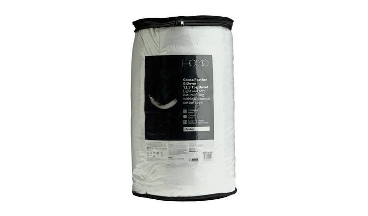 Argos Home Goose Feather & Down 13.5 Tog Duvet - Double