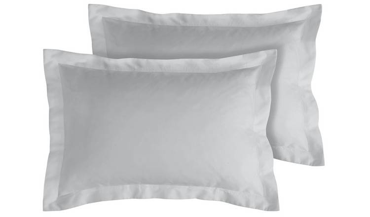 Argos Home 400TC Egyptian Cotton Oxford Pillowcase Pair