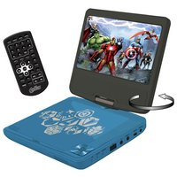 Lexibook Avengers 7 Inch Portable In - Car DVD Player