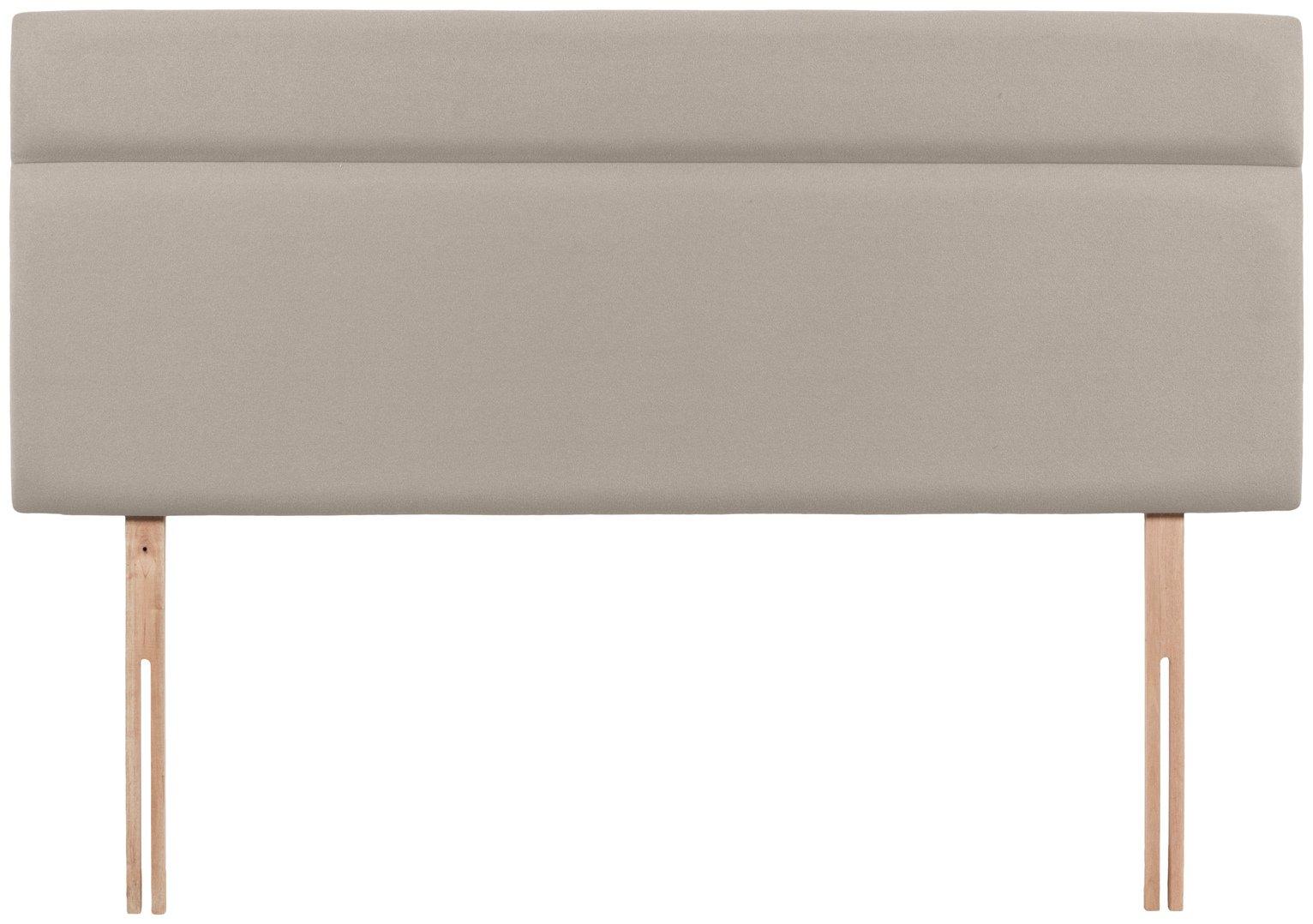 Airsprung Nile Double Headboard - Sandstone