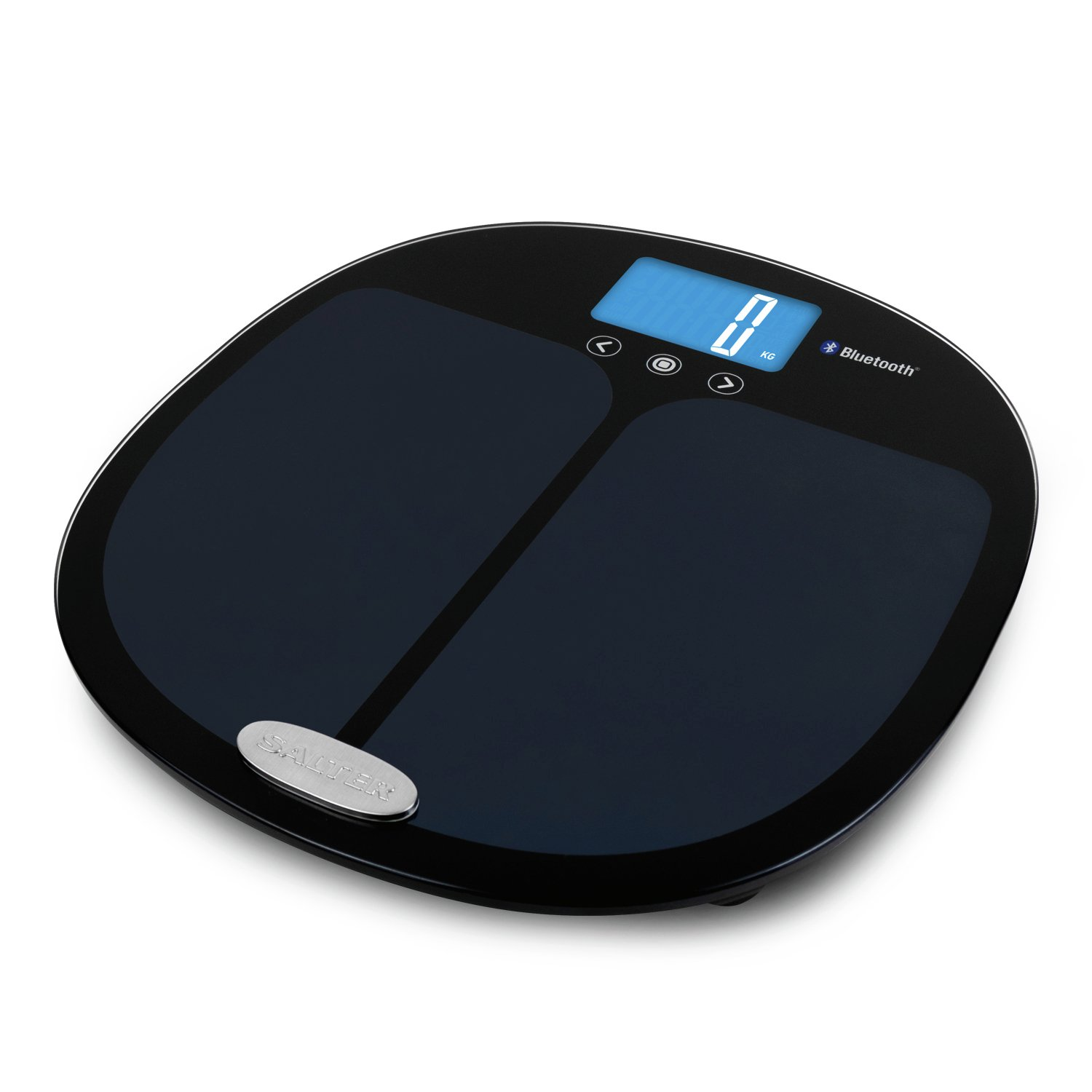 Salter Bluetooth Smart Analyser Bathroom Scale - Black