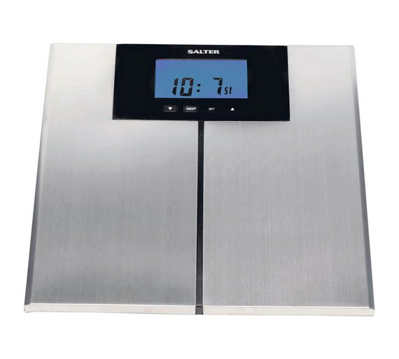 buy salter body weight analysis scale - stainless steel | bathroom ...