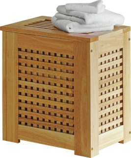 HOME 67 Litre Wooden Laundry Bin - Natural  sc 1 st  Argos & Buy HOME 67 Litre Wooden Laundry Bin - Natural at Argos.co.uk ... Aboutintivar.Com