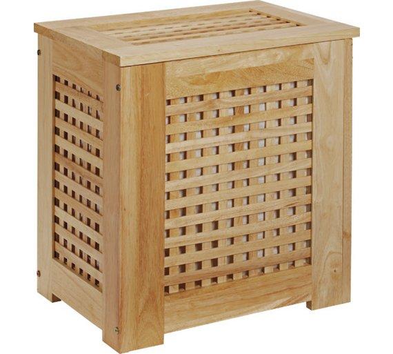 Innovative Wooden Bespoke Laundry Basket