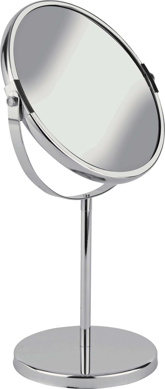 Bathroom Mirror Chrome buy home round chrome freestanding bathroom mirror at argos.co.uk