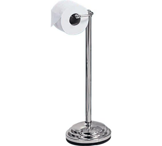 Buy Home Freestanding Toilet Roll Holder Chrome Plated Bathroom Sets And Fittings Argos