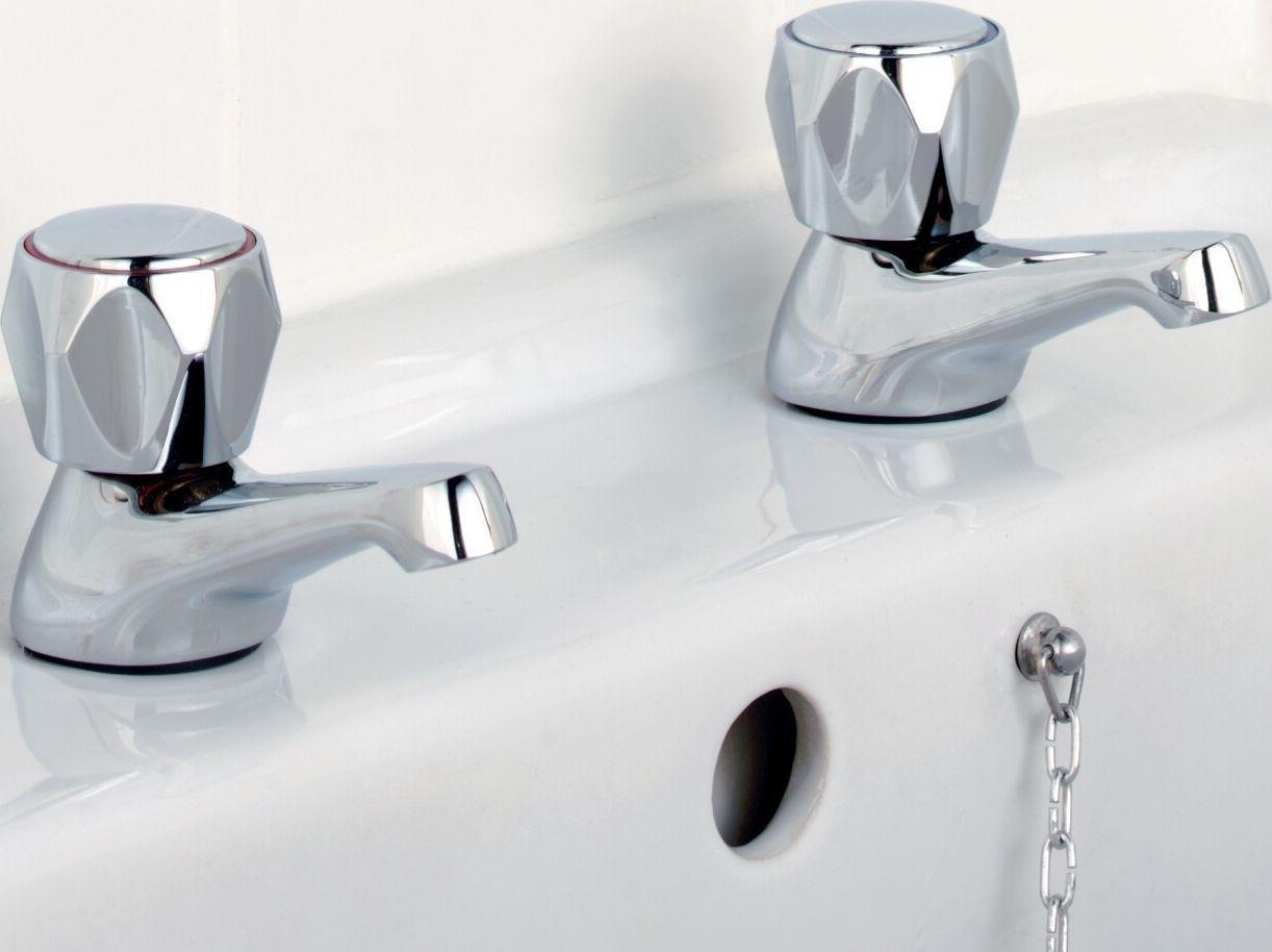 Argos Home Basin Taps - Chrome Plated