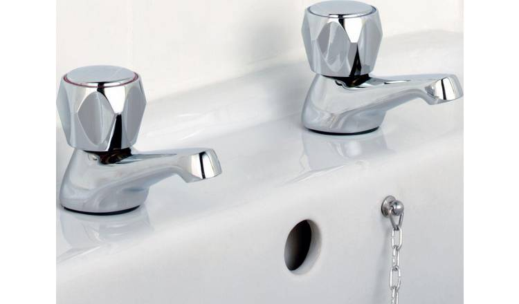 Buy Argos Home Basin Taps Chrome Plated Bathroom Taps Argos