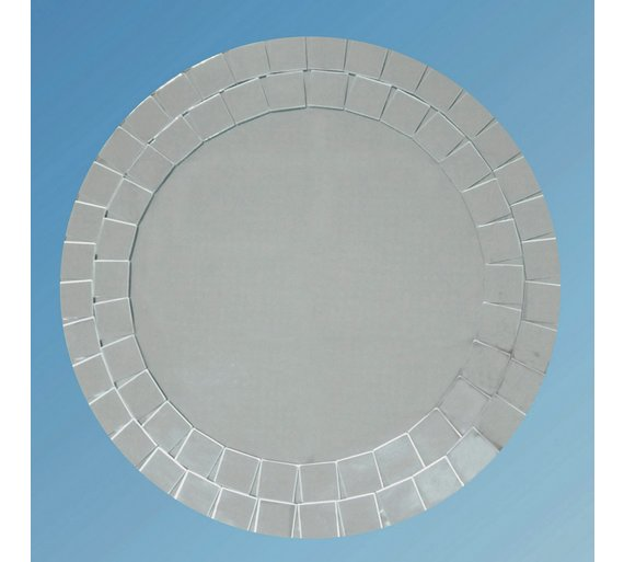 Collection Round Mosaic Bathroom Mirror