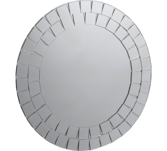 Buy Collection Round Mosaic Bathroom Mirror At Argoscouk