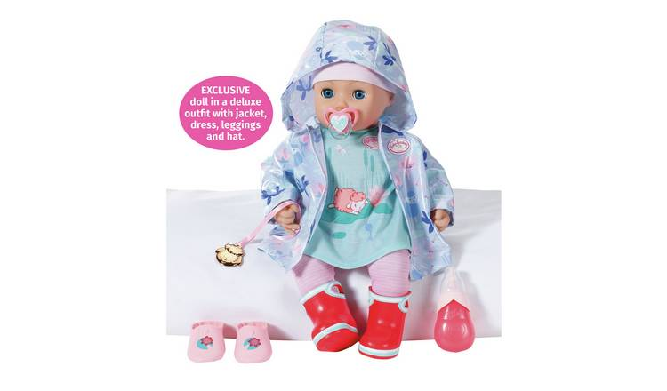 Baby Annabell Annabell + Rain Outfit 43cm