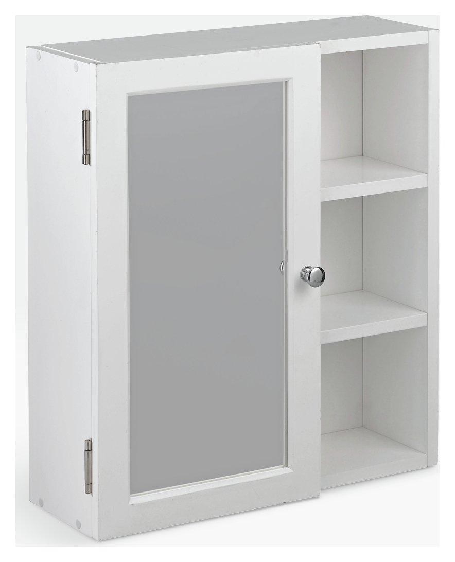 mirror shelves. home mirrored bathroom cabinet with shelves - white mirror
