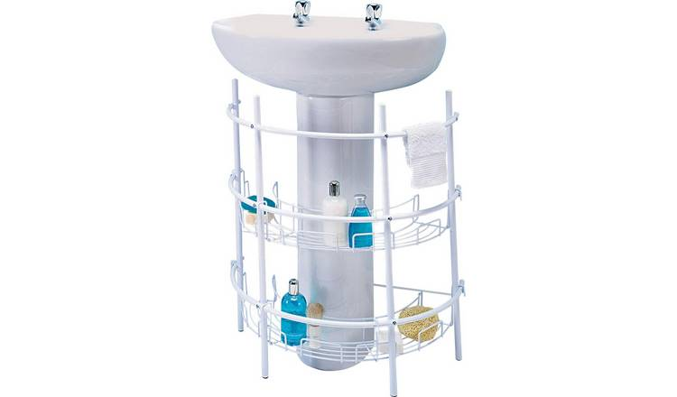Buy Argos Home Under Sink Storage Unit White Bathroom