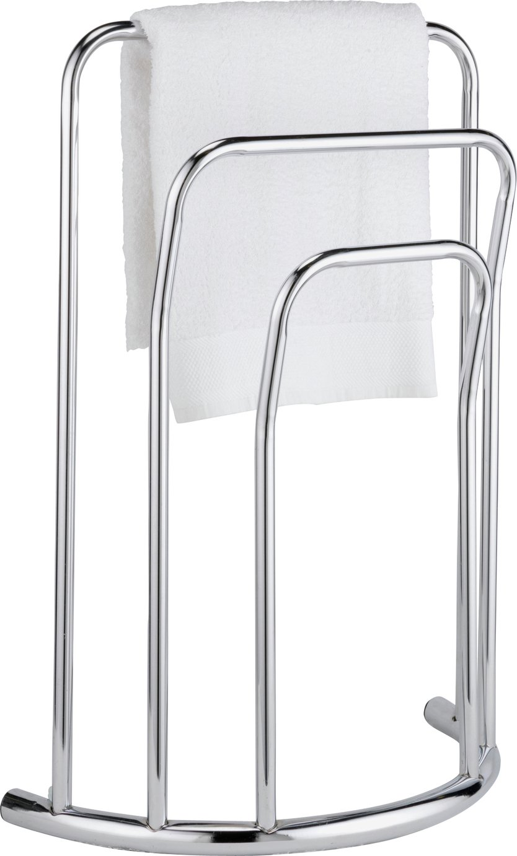 HOME - Curved 3 Bar - Towel Rail - Chrome