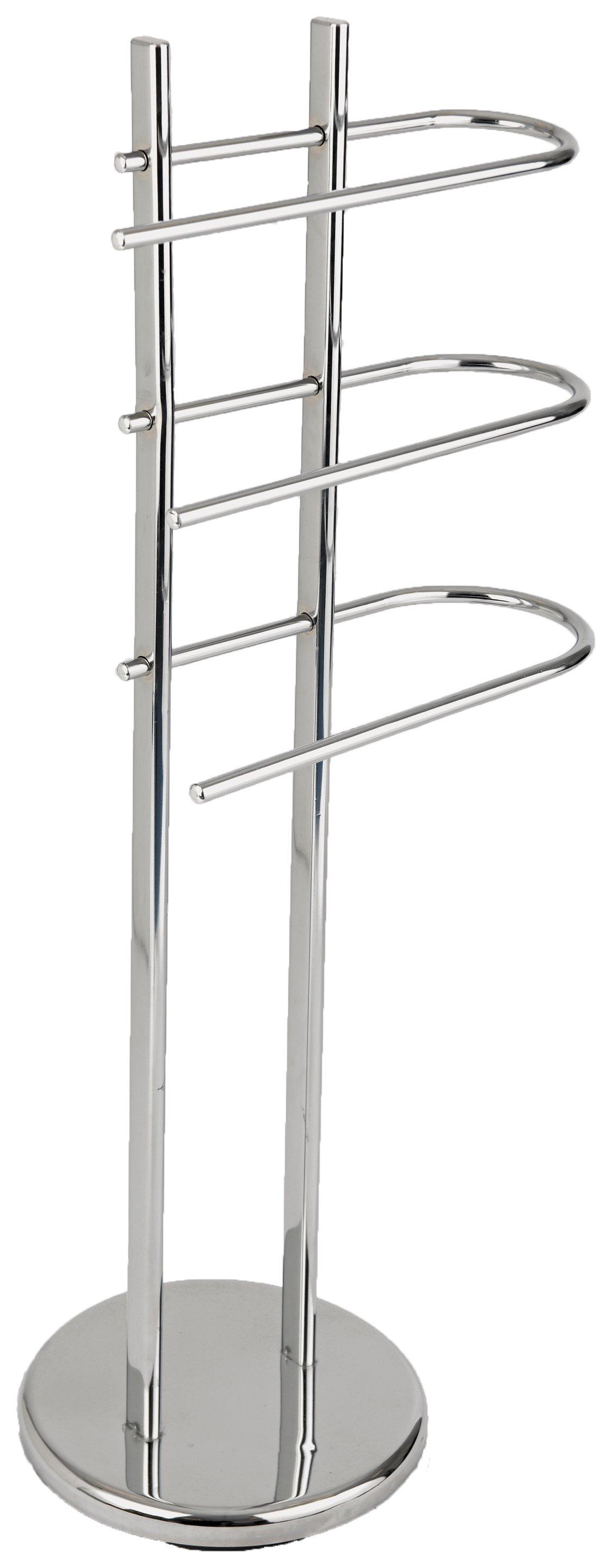 HOME - Freestanding - Towel Rail - Chrome
