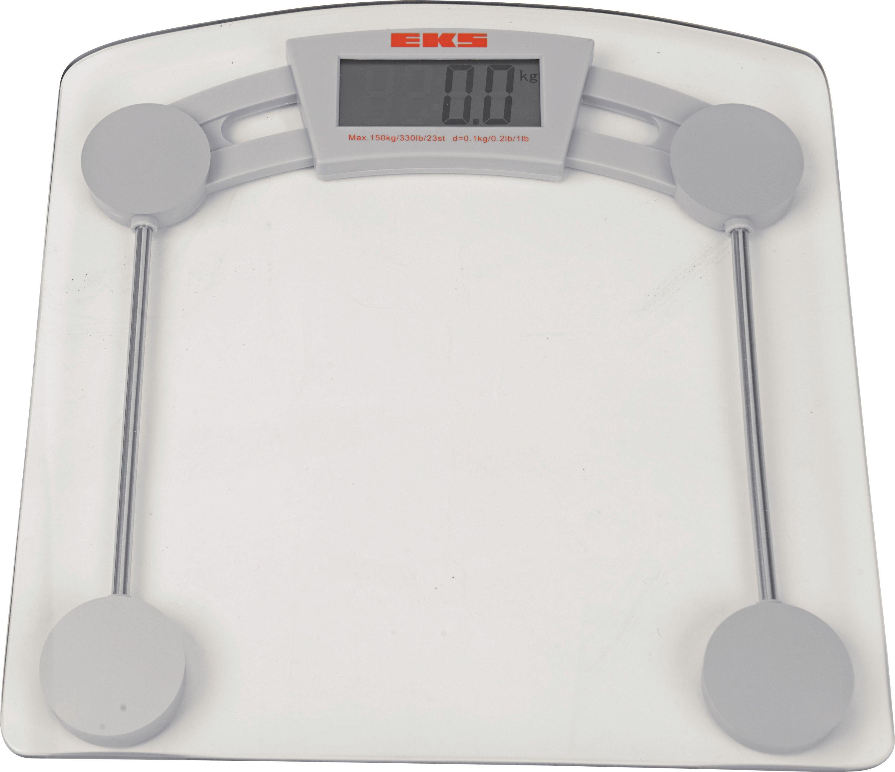 Delightful HOME Glass Electronic Bathroom Scale