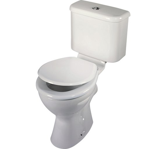 Buy home thermoplastic toilet seat white at for Bathroom accessories argos
