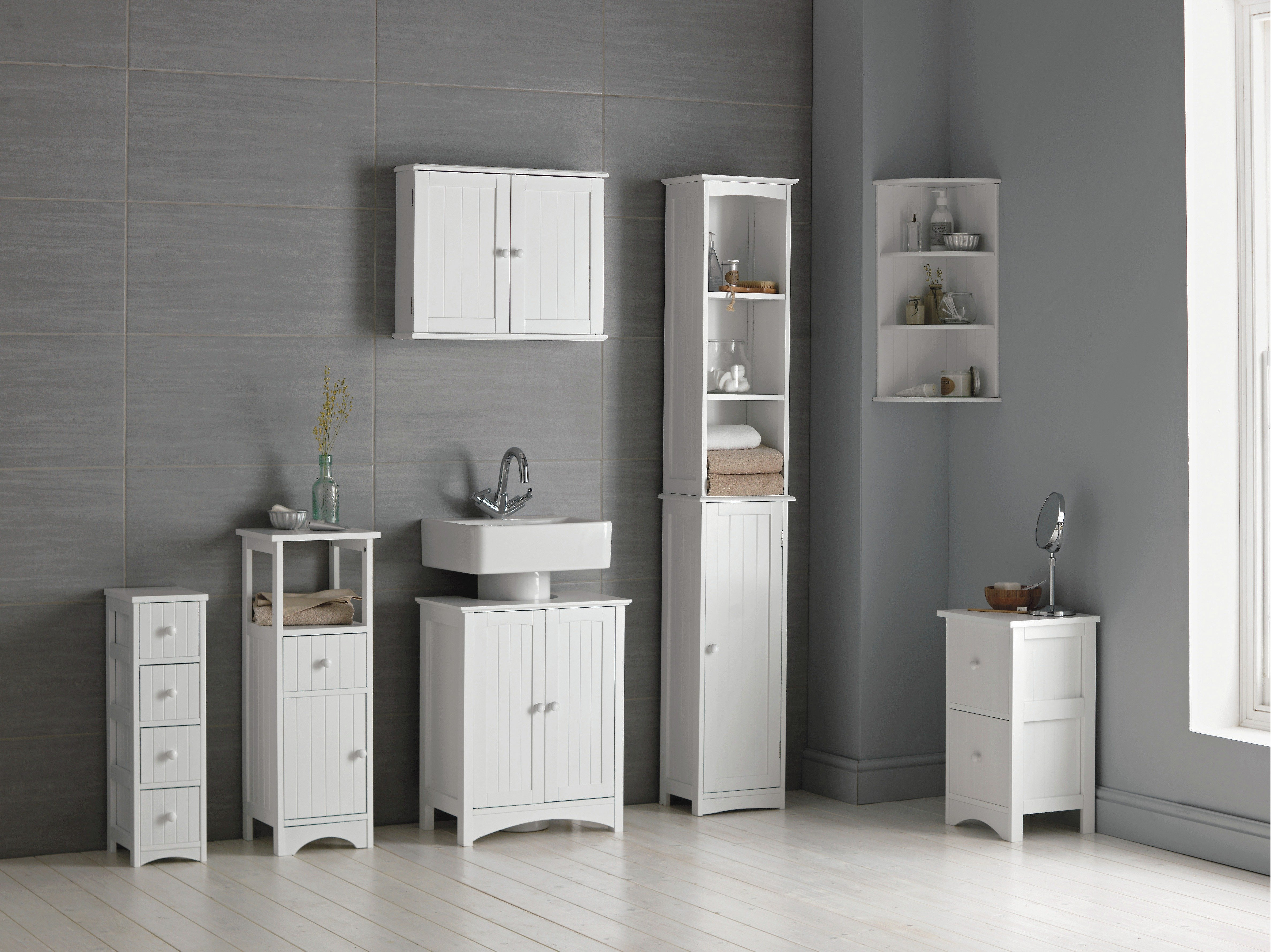 Fantastic Argos Launched  For The Bathroom, New Bamboo Accessories From The Collection Include The Bathroom Bench &1634499 And Ladder Shelf &1636999 And With Spring All About Decluttering, The Collections New Wire Storage Units