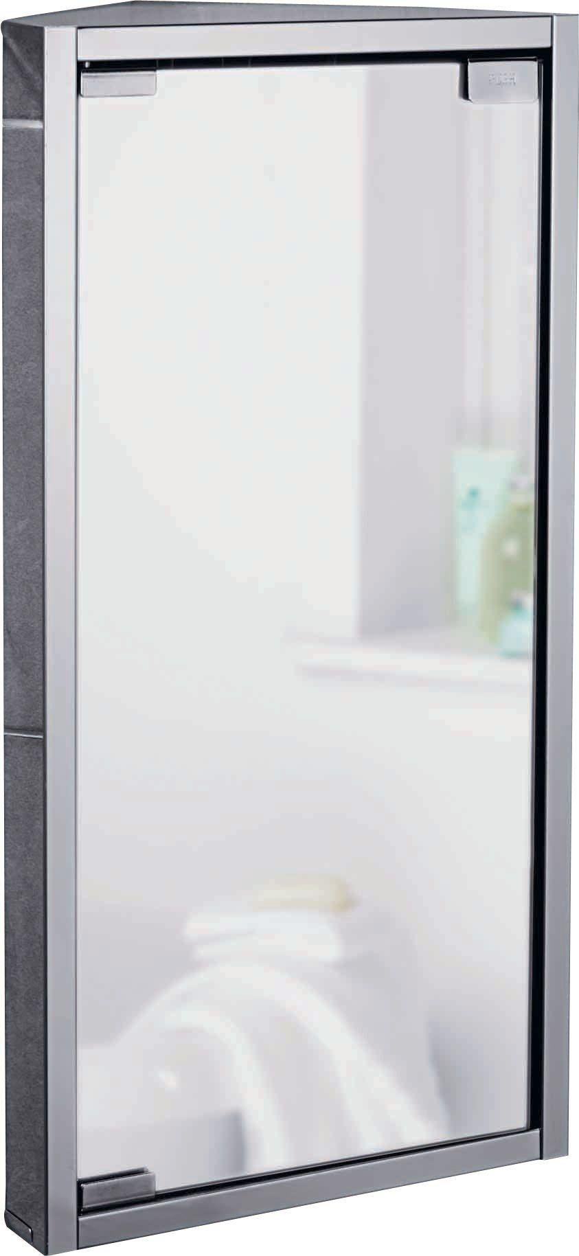 home mirrored bathroom corner cabinet stainless steel - Corner Bathroom Cabinet