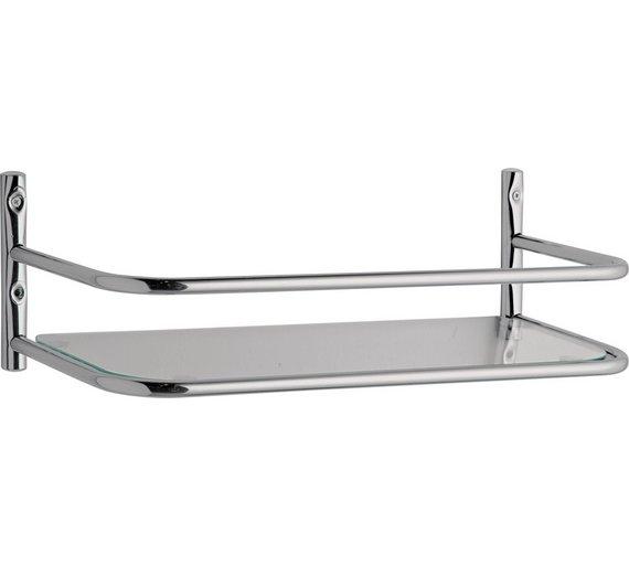 Buy Argos Home Bathroom Chrome Over Cistern Shelf | Bathroom shelves ...