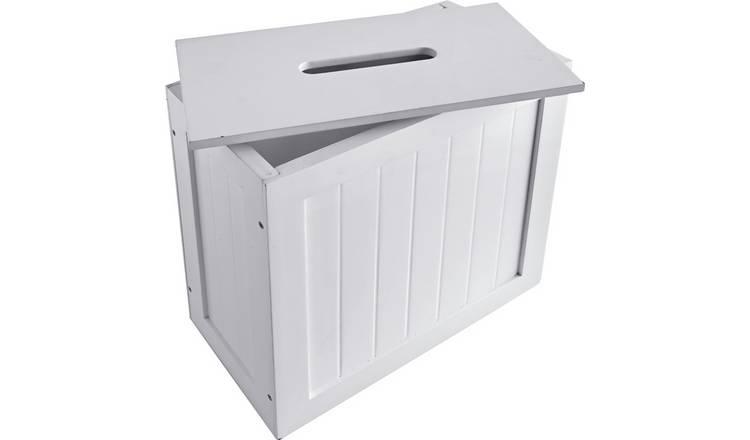 Storage In My Bathroom: Bathroom Storage Box With Lid
