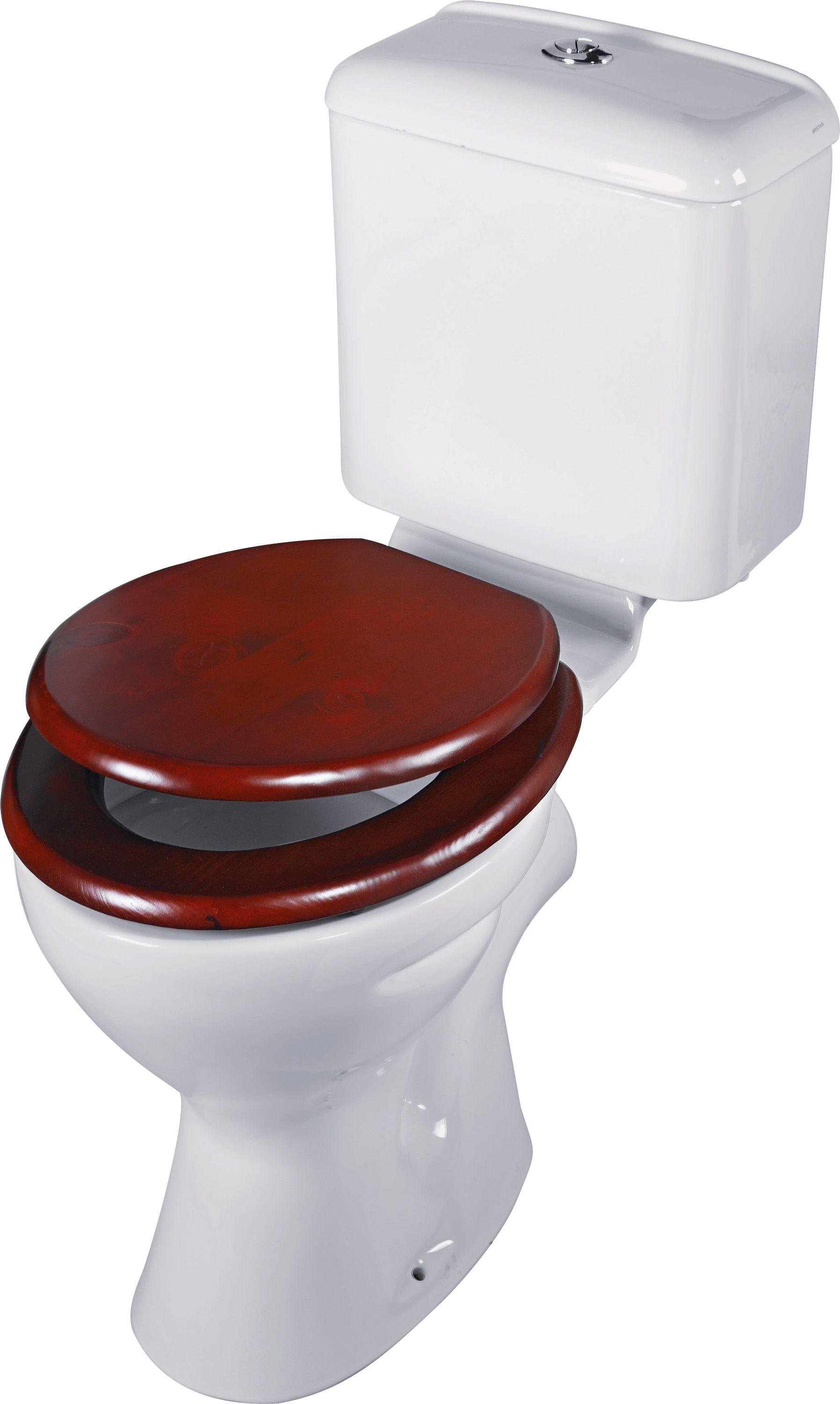 home moulded wood toilet seat