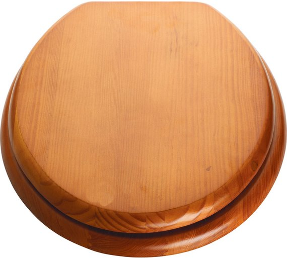 Buy HOME Moulded Wood Toilet Seat - Antique Pine at Argos.co.uk ...