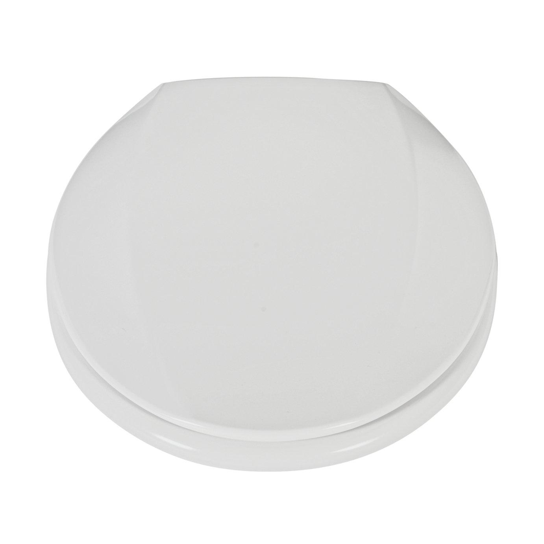 Argos Home Thermoplastic Slow Close Toilet Seat - White