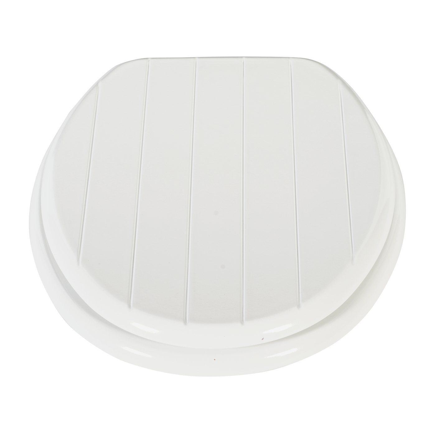 Argos Home Moulded Wood Shaker Style Toilet Seat - White
