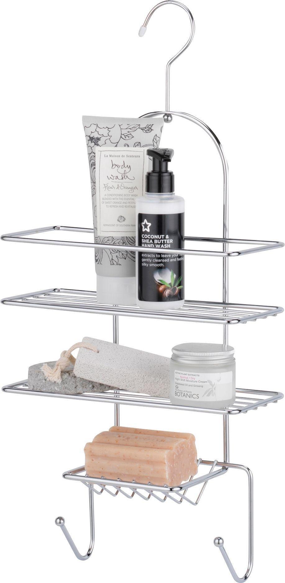 home-2-tier-shower-caddy-chrome
